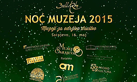 Noć muzeja 2015 u Sarajevu